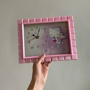 Hello Kitty Angel Frame Clock